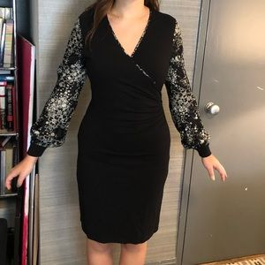 BEAUTIFUL, VINTAGE Anne Fontaine black dress